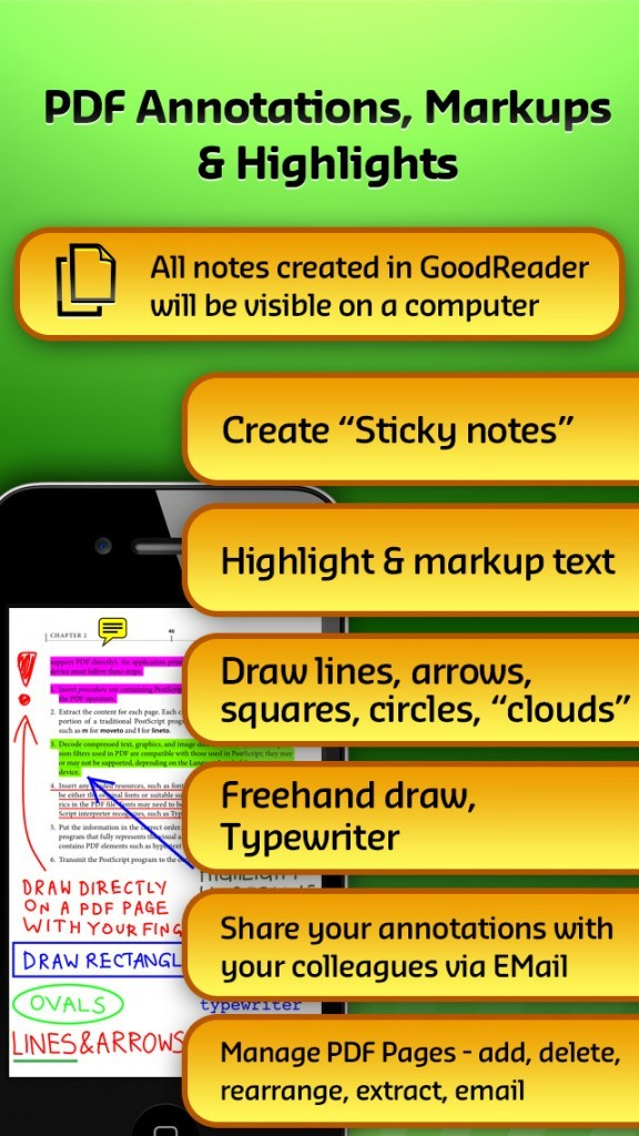 GoodReader for iOS adds Touch ID-protected e-signatures