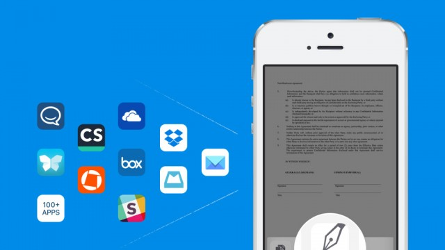 With SignEasy's iOS 8 extension, signing documents has never been easier