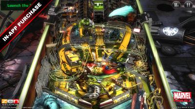 Marvel Pinball goes free, all of its IAP tables are now on sale