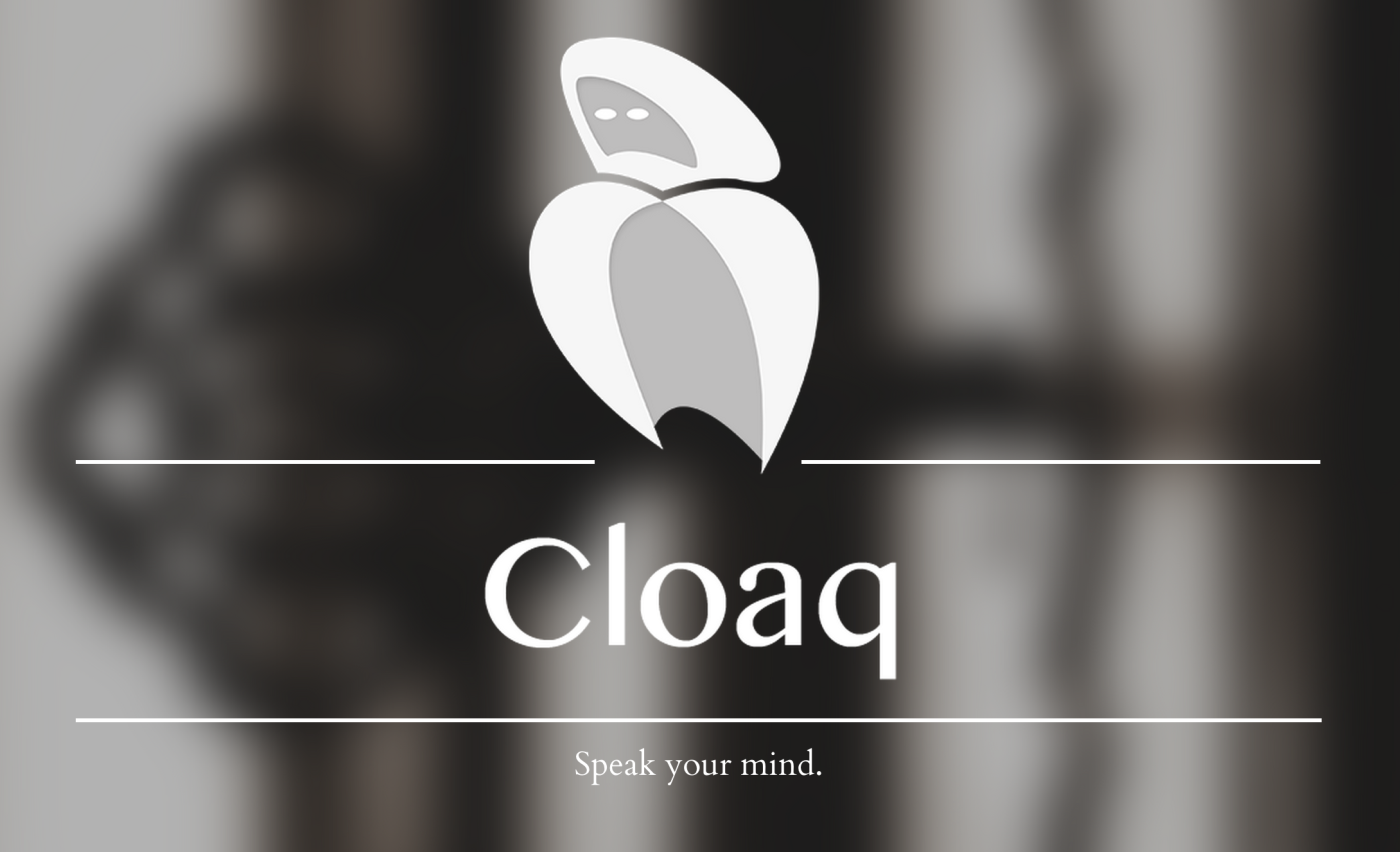 Cloaq, the anonymous social app, goes 2.0 and adds a brand new feature
