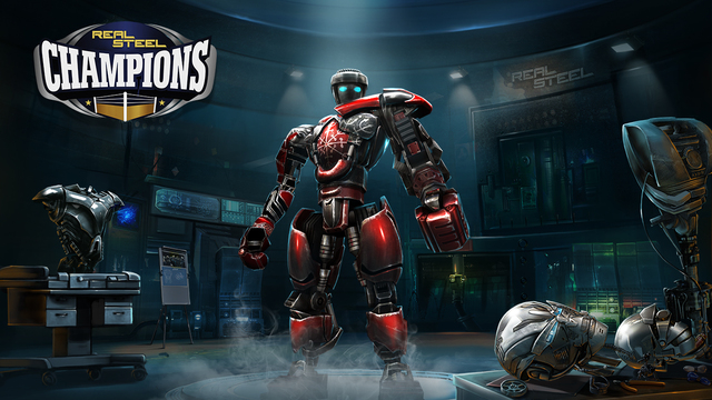 'Do the robot' in Real Steel Champions, available now for iOS