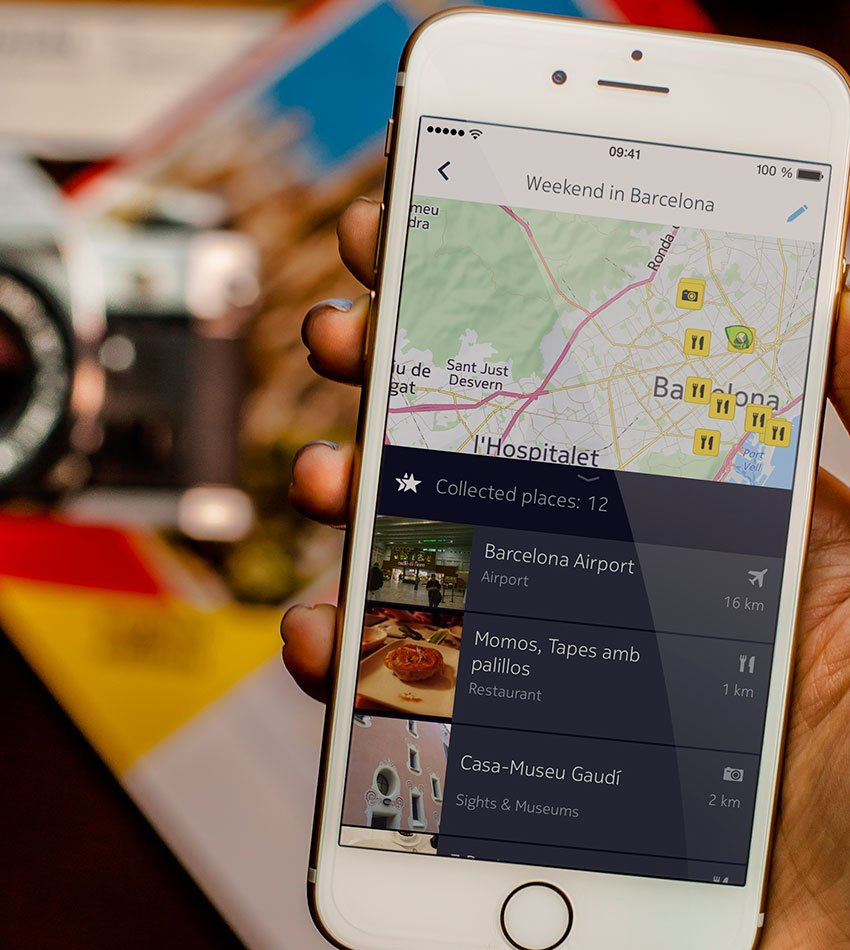 Nokia's Here mapping app comes to iOS
