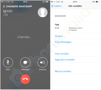 New images show off WhatsApp's long anticipated voice calling feature