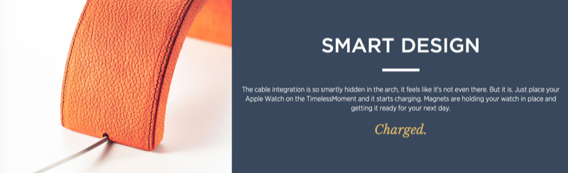 TimelessMoment's smart design.
