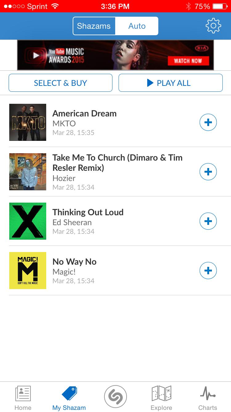 Free Shazam App For Iphone