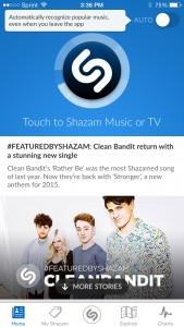 Shazam Auto Switch