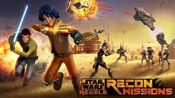 Star Wars Rebels: Recon Missions lets you help defeat the Empire