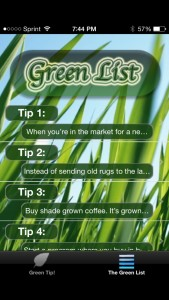 Go Green The Green List