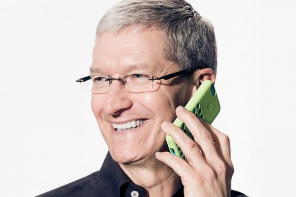 Tim Cook is Fortune magazine's number one leader for 2015