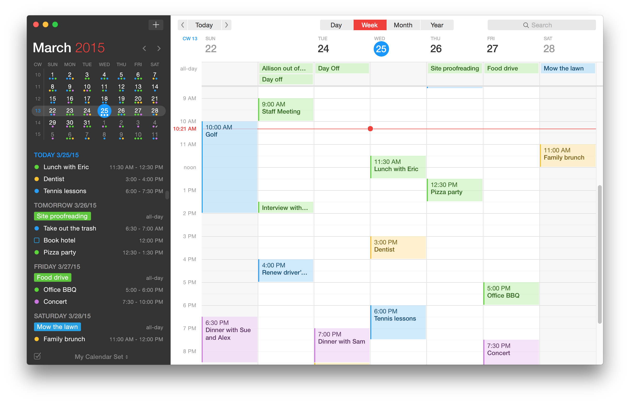 Fantastical 2 for Mac is here and completely reimagined for OS X Yosemite