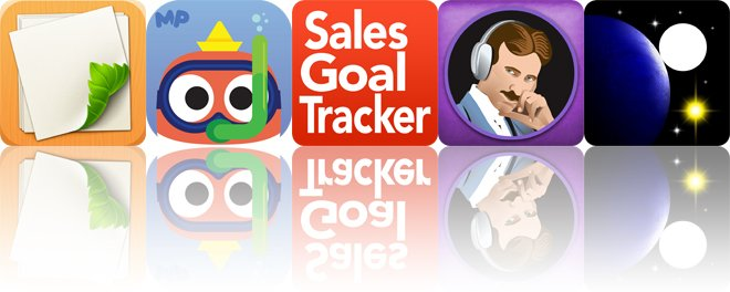 Today's apps gone free: Loose Leaf, MarcoPolo Ocean, Sales Goal Tracker and more