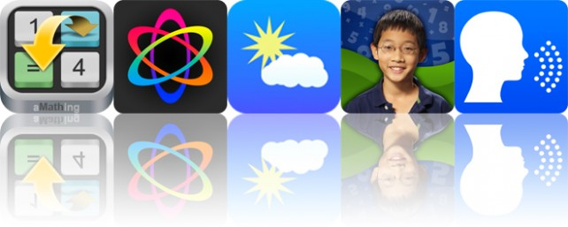 Today's apps gone free: aMathing, Atomus HD, SkyWidgets and more