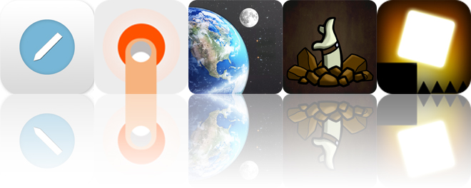 Today's apps gone free: aNote, Endless Memory, SkySafari 4 and more