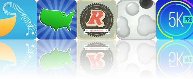 Today's apps gone free: Musical Paint, Geography Duel, Retromatic and more