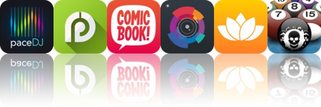 Today's apps gone free: PaceDJ, ASVAB Exam Prep, ComicBook and more