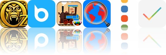 Today's apps gone free: Temple Run: Oz, Briefcase Pro, Toca Train and more