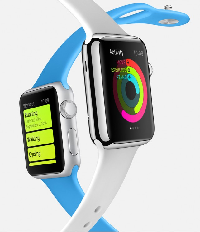 Tim Cook touts a wide variety of different apps for the Apple Watch