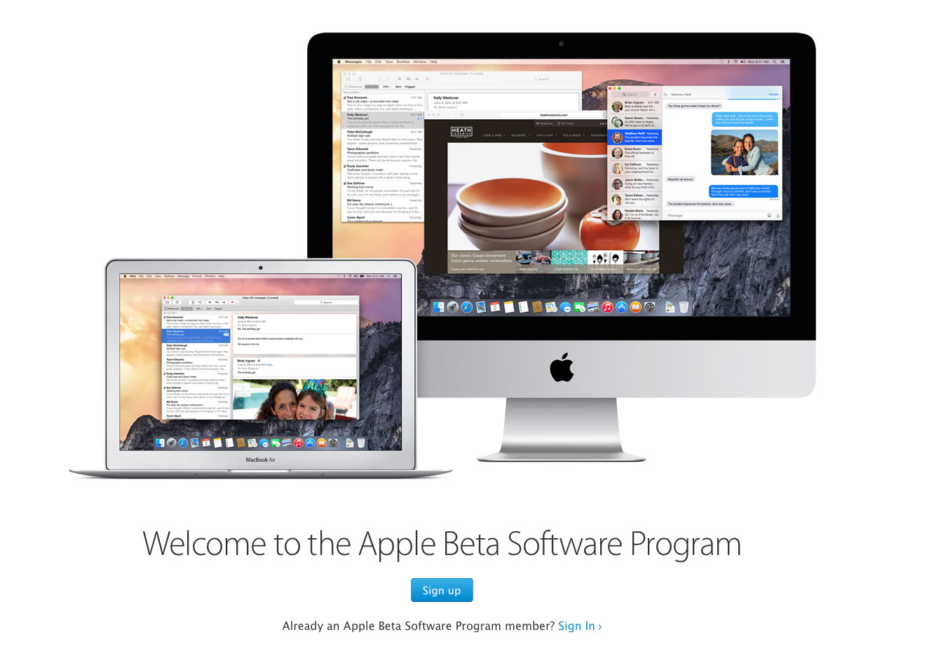 Apple unveils a new public iOS beta testing program with iOS 8.3