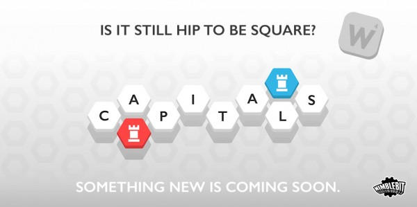NimbleBit's upcoming game Capitals will bring a hexagonal twist to the usual word game
