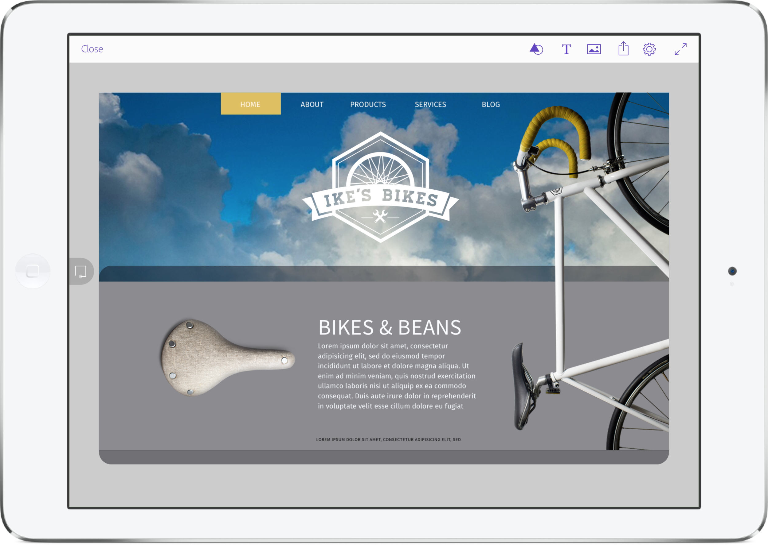 Starting a new design project is easier with Adobe's new Comp CC app for iPad