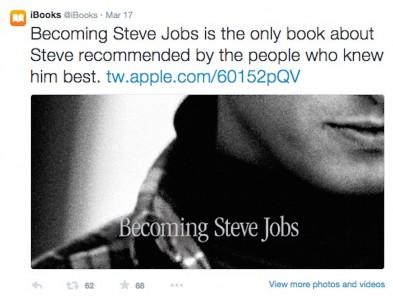 Apple brass get behind 'Becoming Steve Jobs'