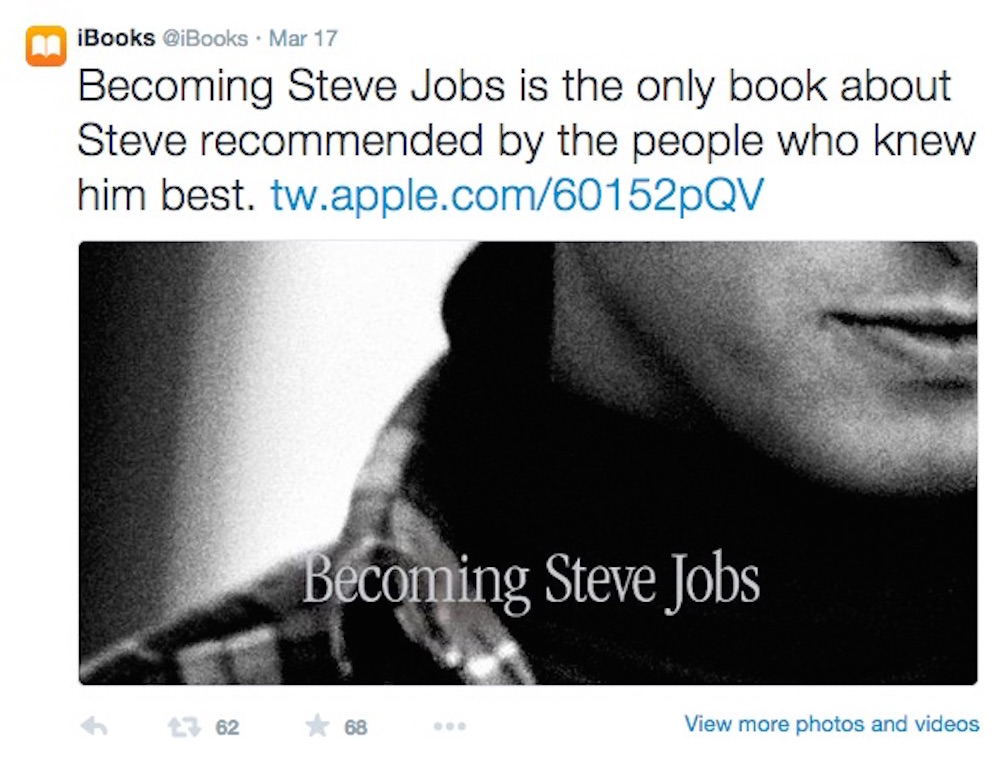 Apple brass get behind 'Becoming Steve Jobs'