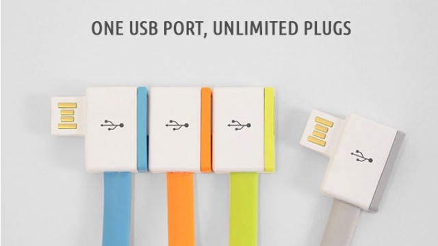 InfiniteUSB helps keep both your iPhone and iPad charged from a single USB port