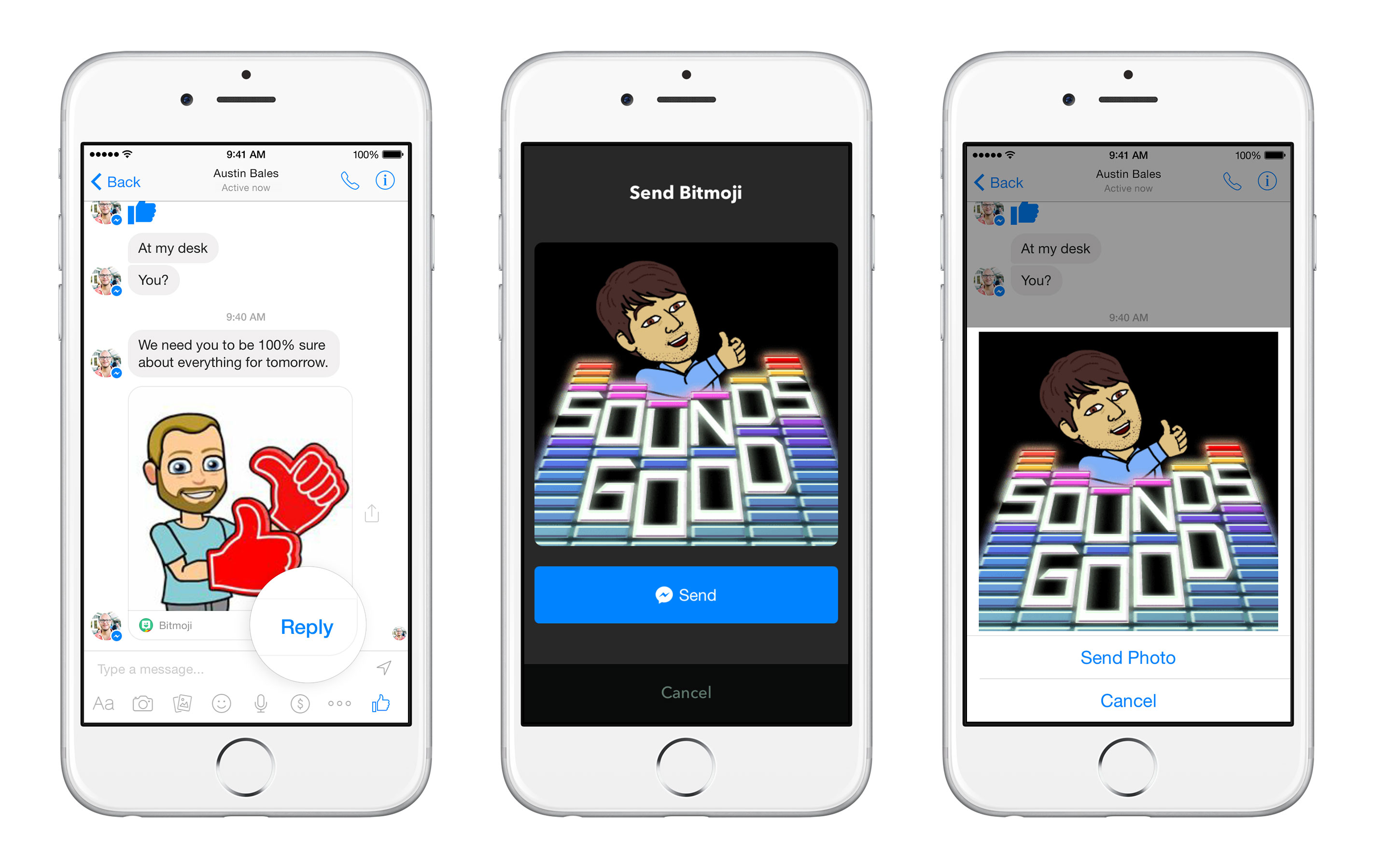 Facebook Messenger is now a platform featuring other third-party apps