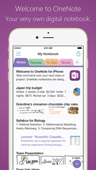 Microsoft updates OneNote for iOS and Mac