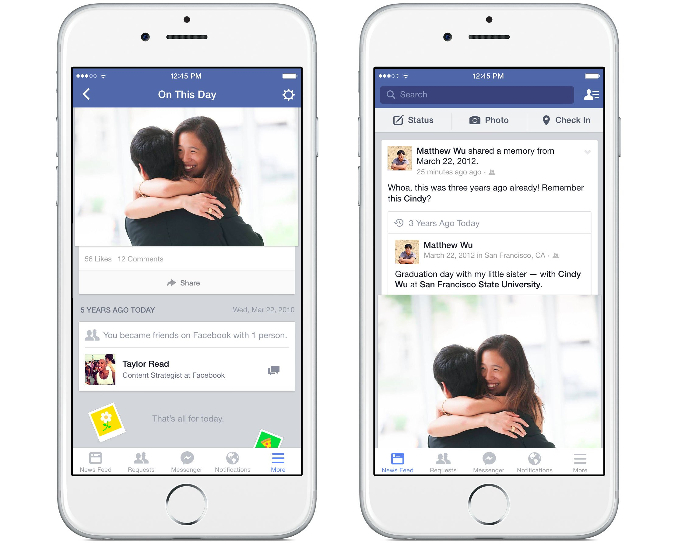 Facebook introduces a new 'On This Day' feature for its iOS app and site