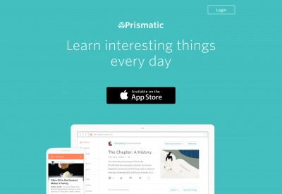 Microsoft is the front runner to acquire personalized, social news reader Prismatic