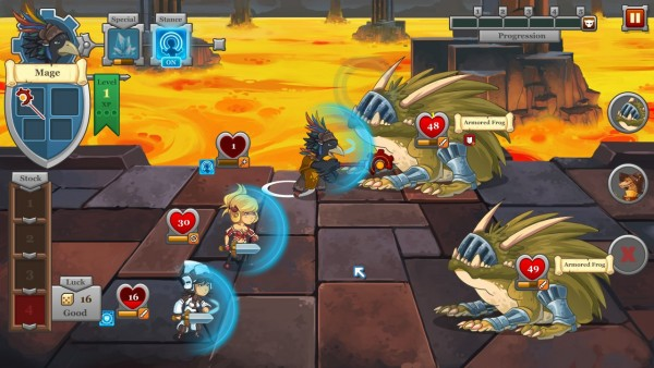 Popular Steam title QuestRun now on iDevices