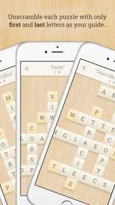 Decipher the words in Alpha Omega, a challenging new word puzzle game