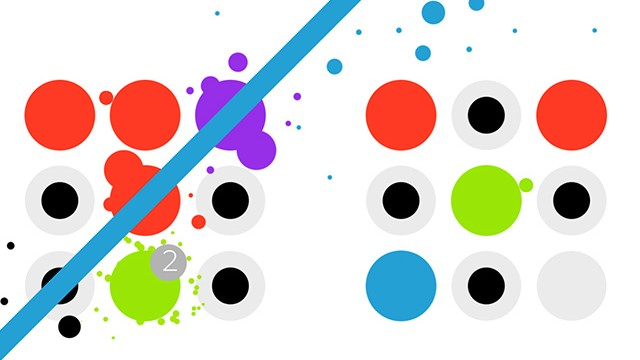 Pay attention to the patterns and make matches in Dotello, a new puzzle game from Bulkypix