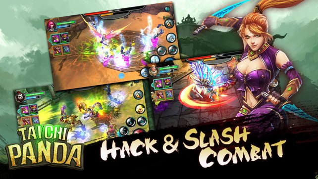 Hack-n-slash your way to save the world in Taichi Panda, an online multiplayer dungeon crawler