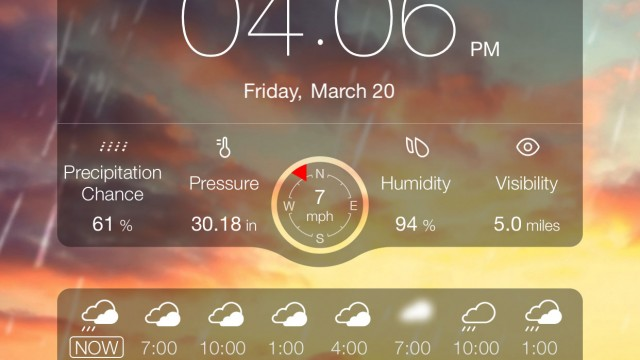 Weather Live update ushers in a better way to view upcoming condition changes