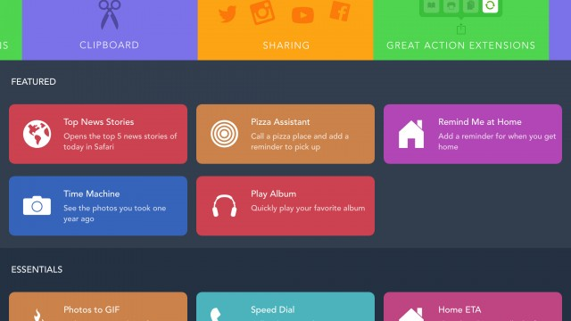 Another nice Workflow update adds new actions and more