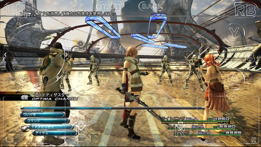 Final Fantasy XIII for iOS.