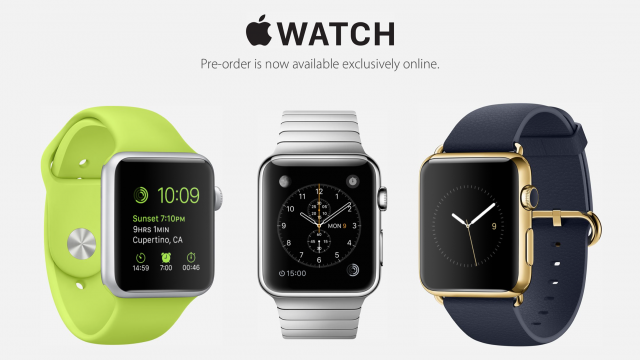 Apple Watch preorders in the United States estimated at 1 million