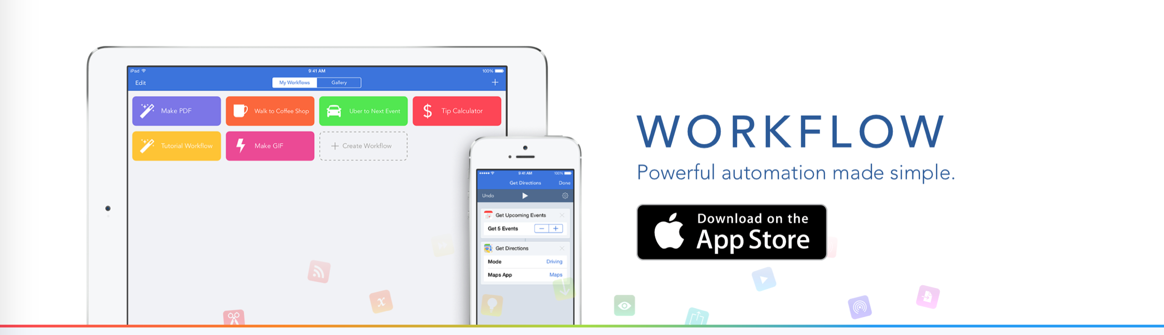 Workflow, the must-have iOS automation app, unveils an application for the Apple Watch