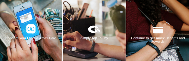 Jawbone's Up4 and its support for mobile payments.
