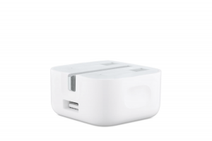 Apple's new 5W charger.
