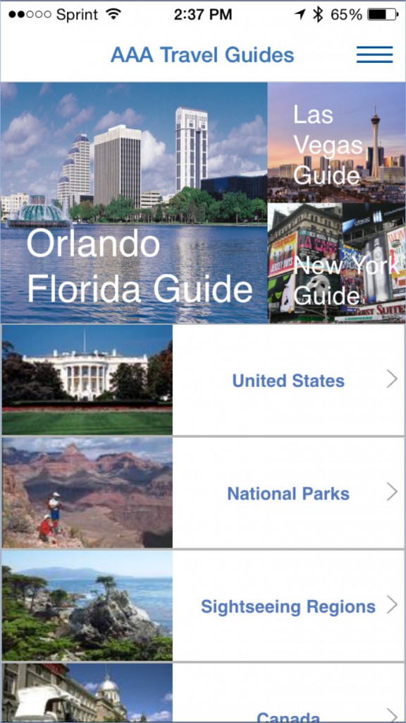 AAA Travel Guide
