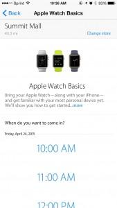 Apple Watch Basics