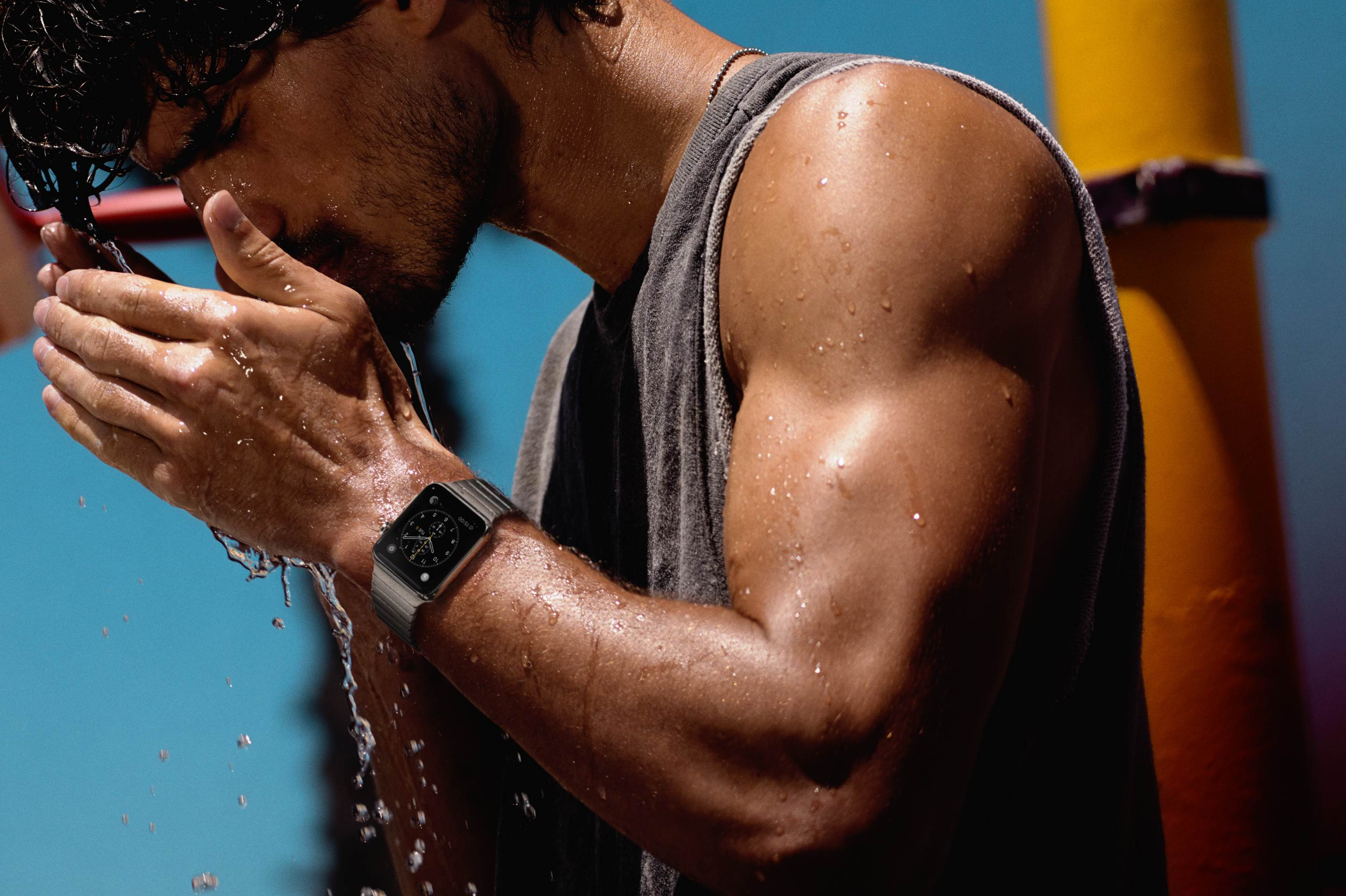 Your Apple Watch might survive a dunk in the pool after all