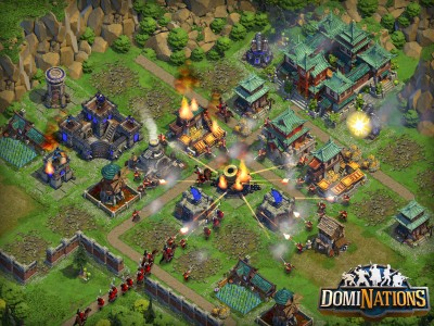 Strategize, defend and conquer in the new DomiNations game