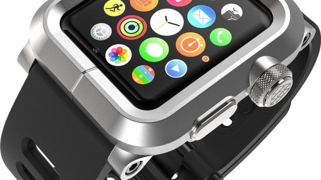 Epik Apple Watch case protects your wearable at the expense of its looks