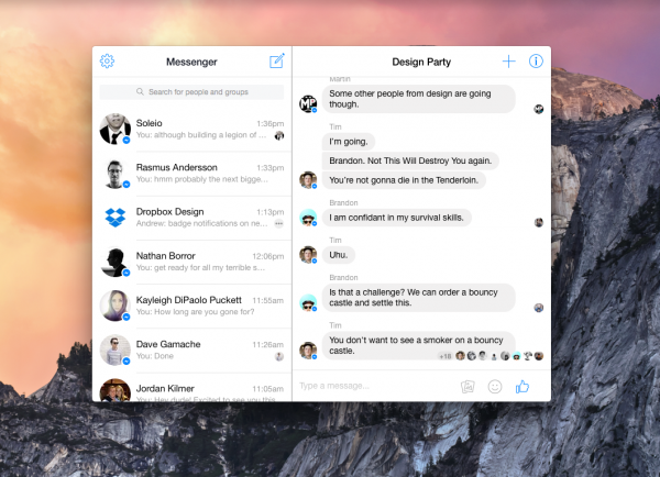 You can now access Facebook Messenger for Web using this standalone Mac app