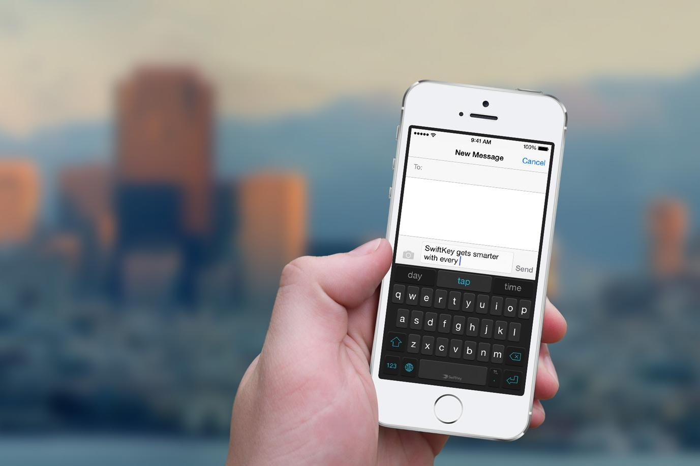 SwiftKey, one of the best iOS keyboards, adds stats, facts