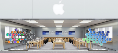 Here's how Apple Retail Stores are celebrating the launch of the Watch